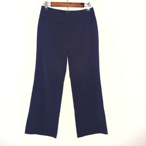 Apt9 ankle bootcut dark navy trousers Sz 2PS